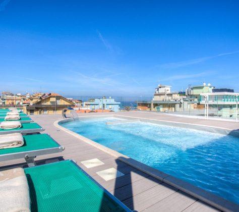 Piscina Esterna Hotel Milano Resort Belalria Igea Marina