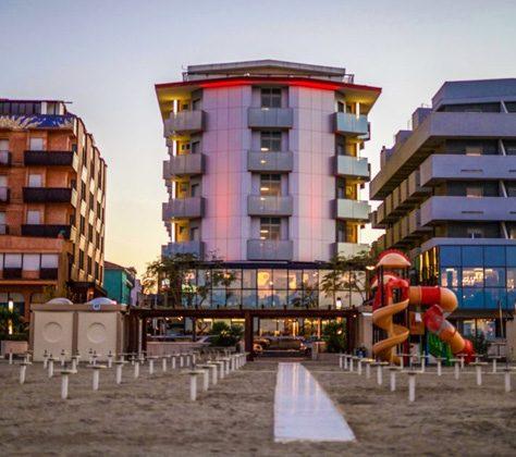Hotel sulla spiaggia Bellaria Igea Marina