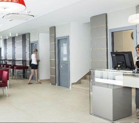 Ricevimento Hotel Milano Suite Resort
