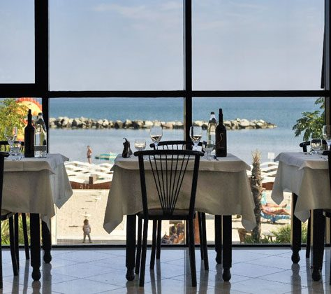 RISTORANTE Vista Mare Milano Resort Bellaria Igea Marina